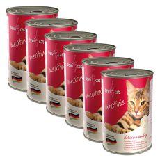 Konzerva BEWI CAT Meatinis HYDINA 6 x 400g