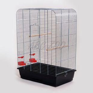 Klietka pre papagaja NINA chrom - 54 x 34 x 75 cm