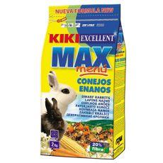 KIKI EXCELLENT MAX MENU - krmivo pre trpasličie králiky 2kg