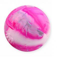 Gumená lopta s motívom labky - 8cm