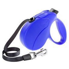 Vodítko Amigo Easy Mini do 12kg - 3m popruh, modré