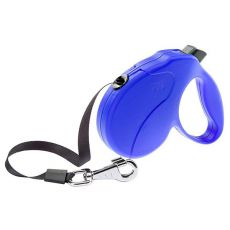 Vodítko Amigo Easy Large do 50kg - 5m popruh, modré