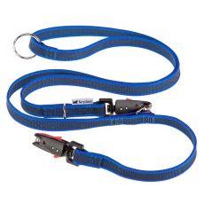 Vodítko pre psa Daytona nylonové, modré - 1,2-2 m / 20 mm