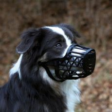 Náhubok pre psa, plastový - veľkosť L/XL, 35 cm
