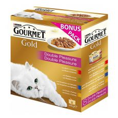 Konzerva Gourmet GOLD - dusené a grilované kúsky, 8 x 85 g