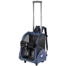 Nylónová taška na kolieskach pre psa - 32 x 28 x 51 cm