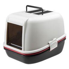 MAGIX toaleta pre mačky - 55,5 x 45,5 x 41 cm béžová