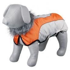 Kabát Trixie Laval béžovo oranžový, L 55 cm