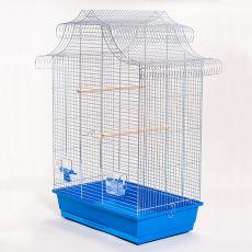 Klietka pre papagaje AMADINA chrom - 61,5 x 41,5 x 85,5 cm