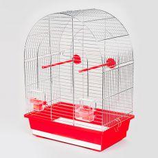 Klietka pre papagaja LUSI I chrom - 39 x 25 x 53 cm