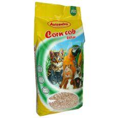 Kukuričná podstielka Corn Cob Litter, 10 L - hrubá