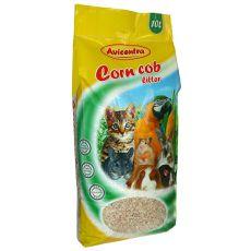 Kukuričná podstielka Corn Cob Litter, 10 L - jemná
