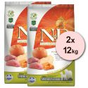 Farmina N&D dog GF PUMPKIN adult medium/maxi, boar & apple - 2 x 12kg