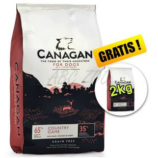 CANAGAN Country Game 6kg + 2kg GRATIS