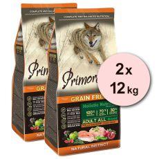 Primordial GF Adult Chicken & Salmon 2 x 12 kg