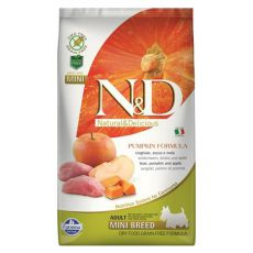Farmina N&D dog GF PUMPKIN adult mini, boar & apple - 2,5 kg