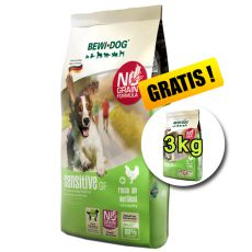 BEWI DOG SENSITIVE 12,5 kg + 3 kg GRATIS