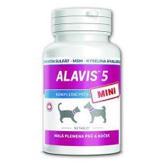 ALAVIS 5 MINI Kĺbový prípravok pre psy a mačky - 90 tbl