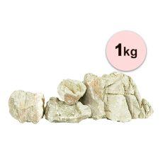 Kamene do akvária Grey Luohan Stone S - 1kg