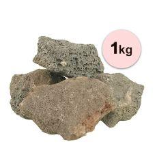 Vulkanické kamene do akvária Black Volcano Stone M - 1kg