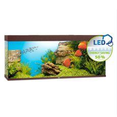 Akvárium JUWEL Rio LED 450 - tmavo hnedé