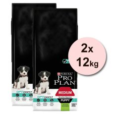 Purina PRO PLAN PUPPY Medium Sensitive Digestion LAMB 2 x 12kg