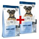 Happy Dog Mini Baby & Junior 4 kg + 4 kg ZDARMA
