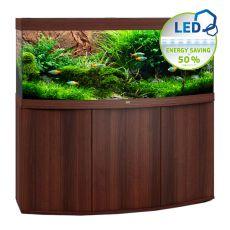 Set JUWEL akvárium Vision LED 450 tmavo hnedý + skrinka