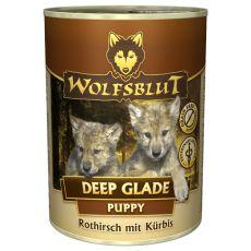 Konzerva WOLFSBLUT Deep Glade PUPPY, 395 g