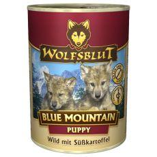 Konzerva WOLFSBLUT Blue Mountain PUPPY, 395 g