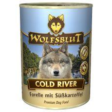 Konzerva WOLFSBLUT Cold River, 395 g