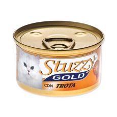 Konzerva STUZZY Gold - pstruh, 85g