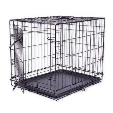 Klietka Dog Cage Black Lux, M - 78,5 x 52,5 x 59 cm