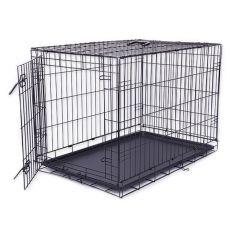Klietka Dog Cage Black Lux, XL - 107,5 x 74,5 x 80,5 cm