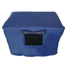 Prikrývka na klietku Dog Cage Black Lux M - 78,5 x 52,5 x 59 cm