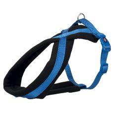 Postroj pre psy PREMIUM modrý XS - S, 30 - 40 cm