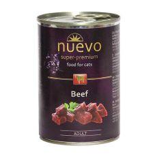 Konzerva NUEVO CAT Adult Beef 400 g