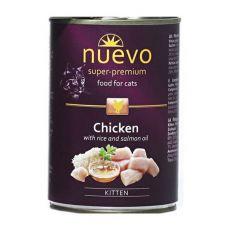 Konzerva NUEVO CAT Kitten Chicken 400 g