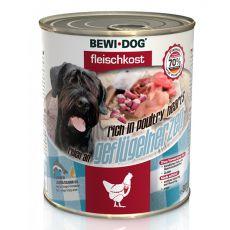 New BEWI DOG konzerva – Hydinové srdcia, 800 g