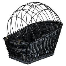 Košík na bicykel pre psa s mriežkou 35 × 49 × 55 cm