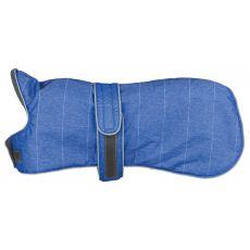 Zimný kabát Trixie Belfort modrý, XS 30 cm