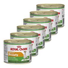 Mini Adult Beauty konzerva pre psy pre zdravú kožu 6 x 195 g