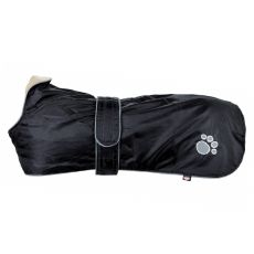 Kabát pre psa Trixie Orléans čierny, XL 80 cm