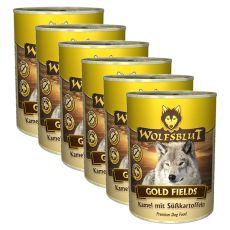 Konzerva WOLFSBLUT Gold Fields, 6 x 395 g