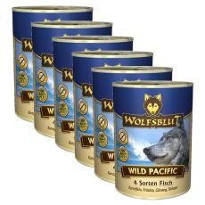 Konzerva WOLFSBLUT Wild Pacific, 6 x 395 g