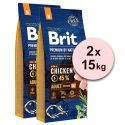 Brit Premium by Nature Adult Medium 2 x 15 kg
