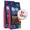 Brit Premium by Nature Junior Large 2 x 15 kg