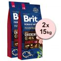 Brit Premium by Nature Senior Large a Extra Large 2 x 15 kg