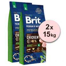 Brit Premium by Nature Adult Extra Large 2 x 15 kg
