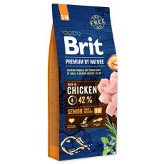 Brit Premium by Nature Senior Small a Medium 15 kg